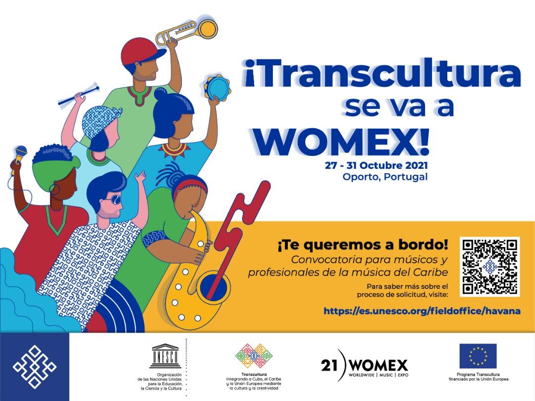 UE-UNESCO – Abierta convocatoria para participar en WOMEX a través de programa Transcultura