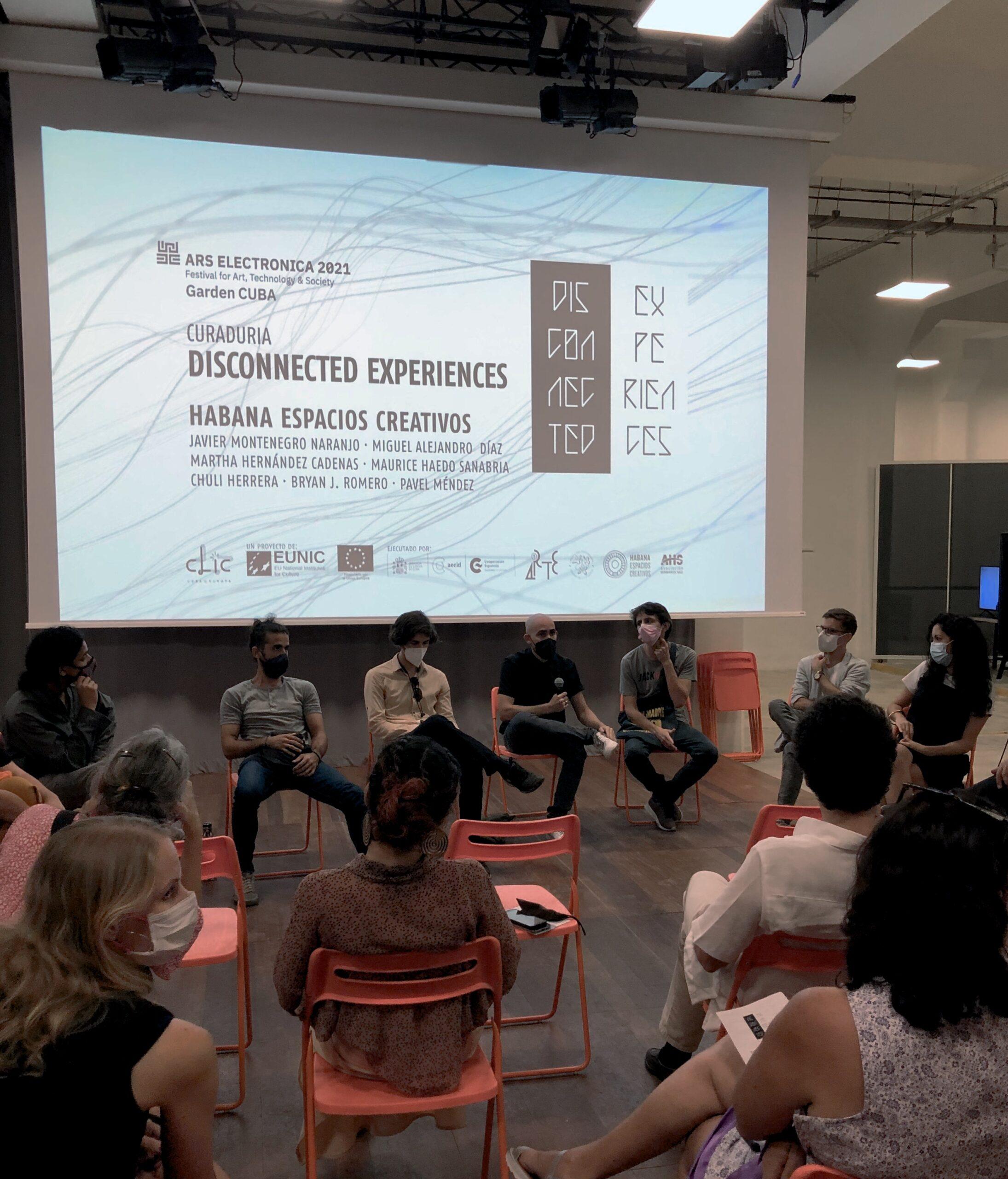 Participa Cuba por primera vez en el Ars Electrónica con Disconnected Experiences